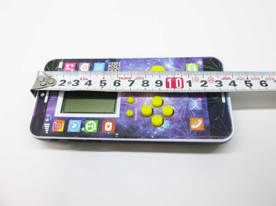 ダイソー LCDゲーム ブロックエックス 本体9