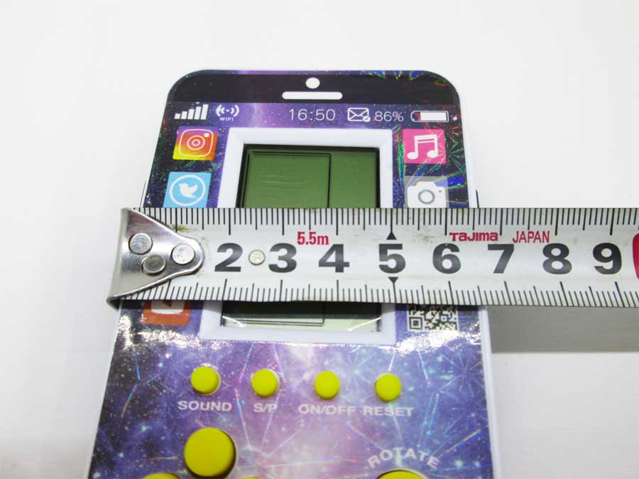 ダイソー LCDゲーム ブロックエックス 本体10