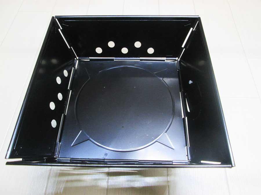 キャンドゥ 組み立て式ミニコンロ 本体11