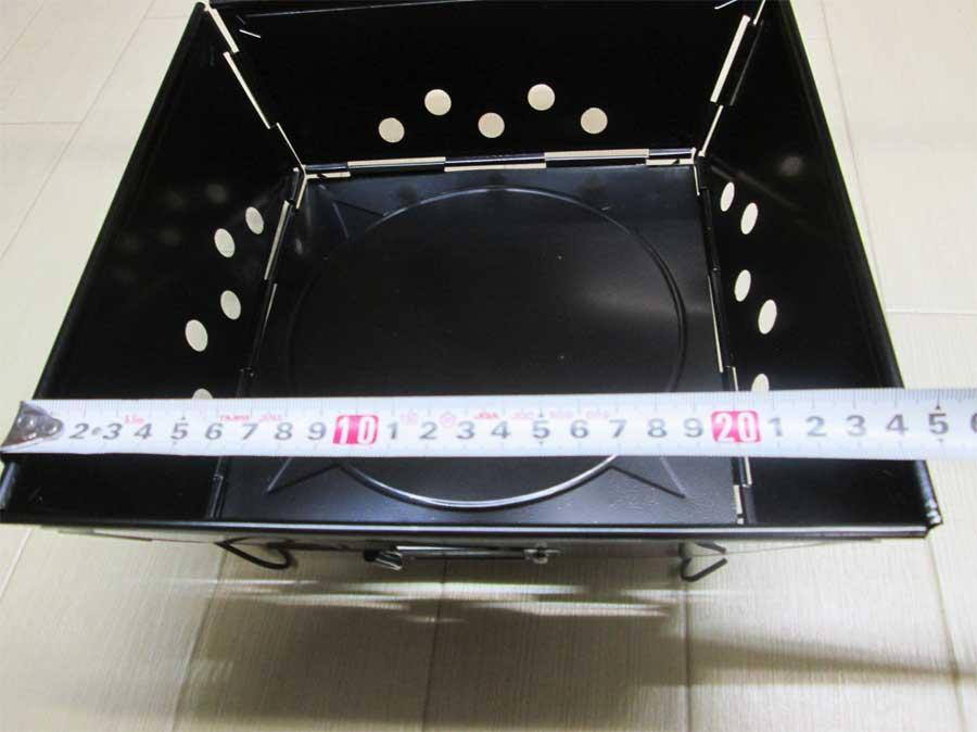 キャンドゥ 組み立て式ミニコンロ 本体16