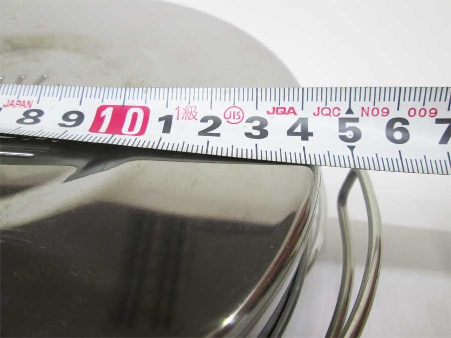 キャンドゥ 折りたたみ手付き鍋16㎝ 本体7
