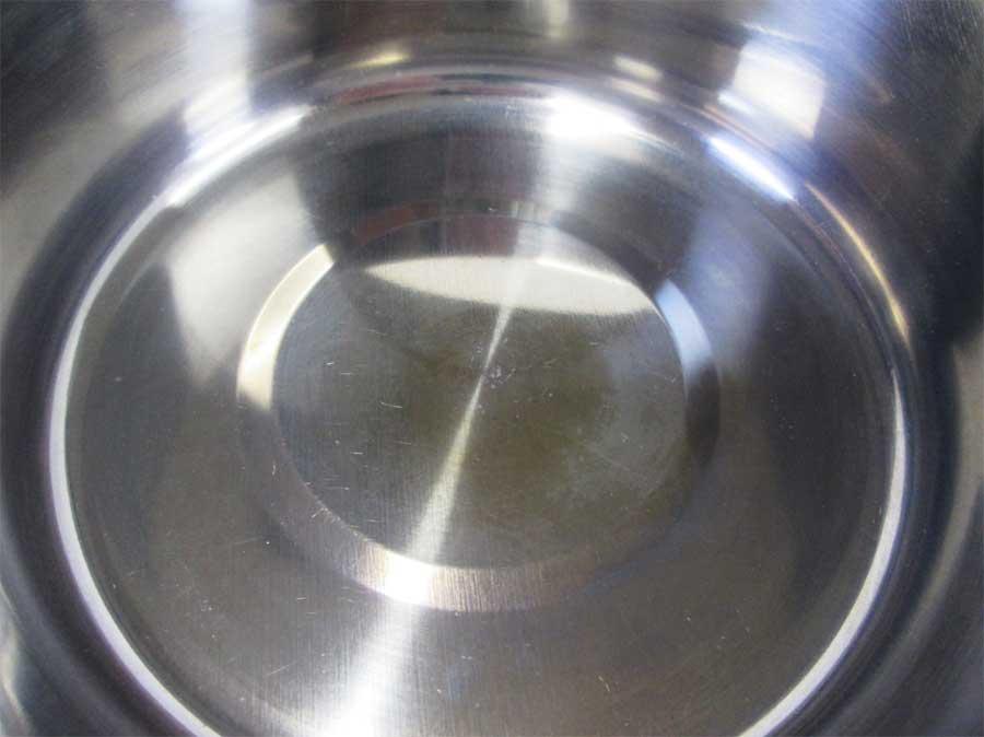キャンドゥ 折りたたみ手付き鍋16㎝ 本体27